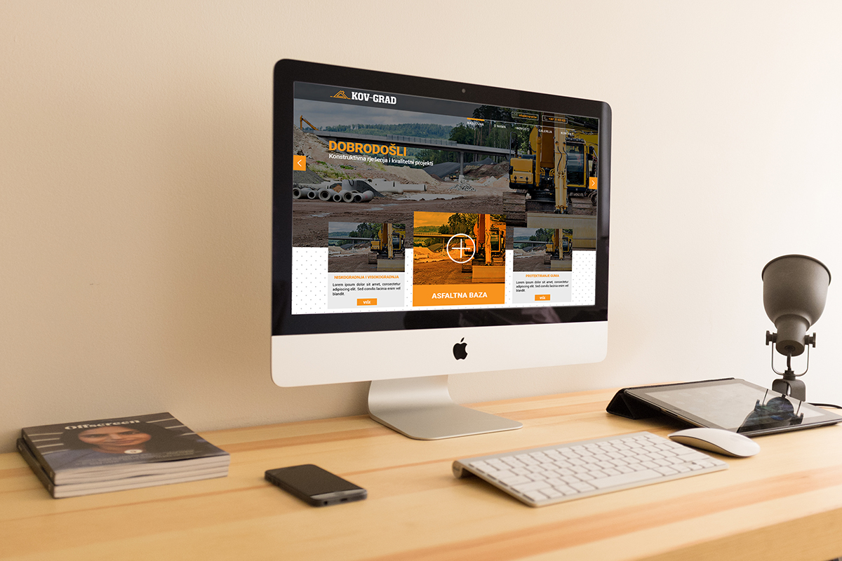 Kov-Grad - Kov-Grad / Web design