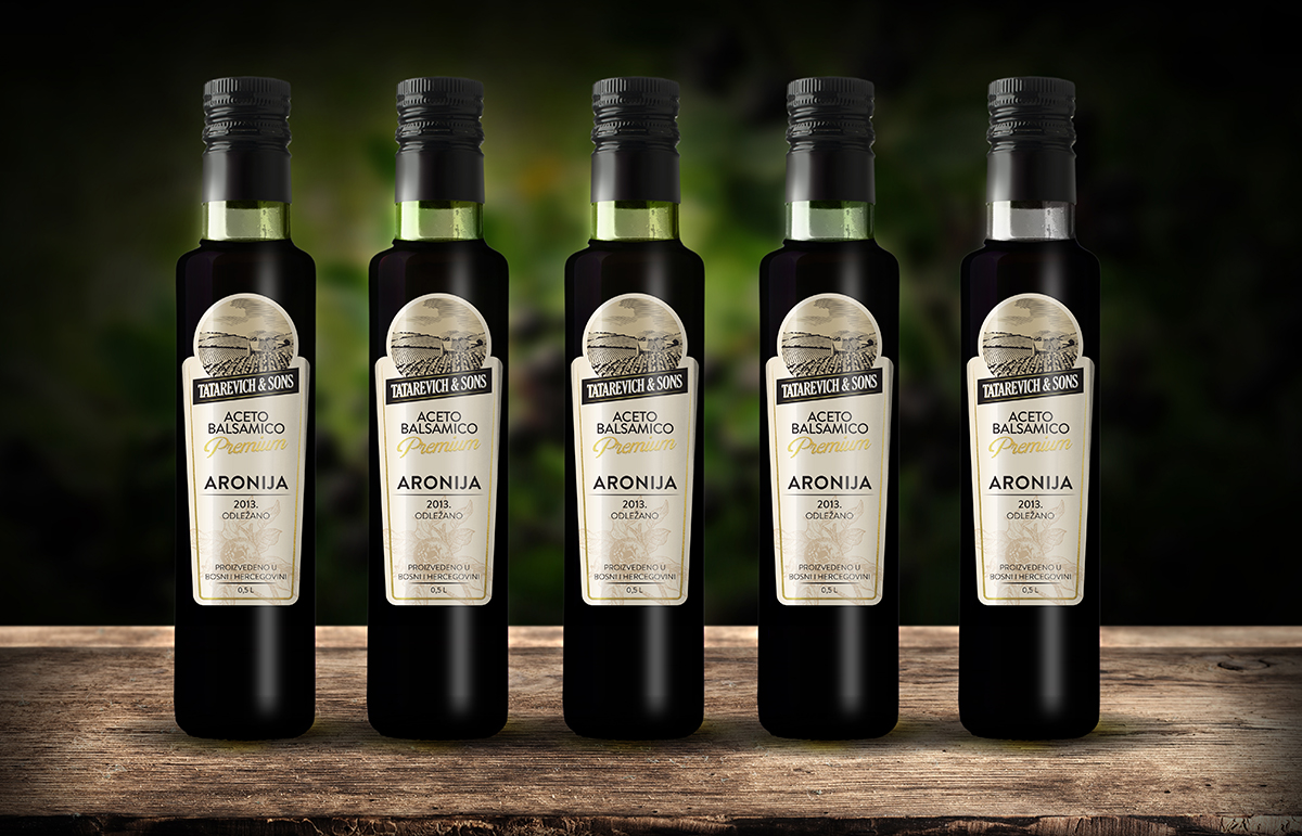 Balsamic Vinegar Aronia - Packaging Design