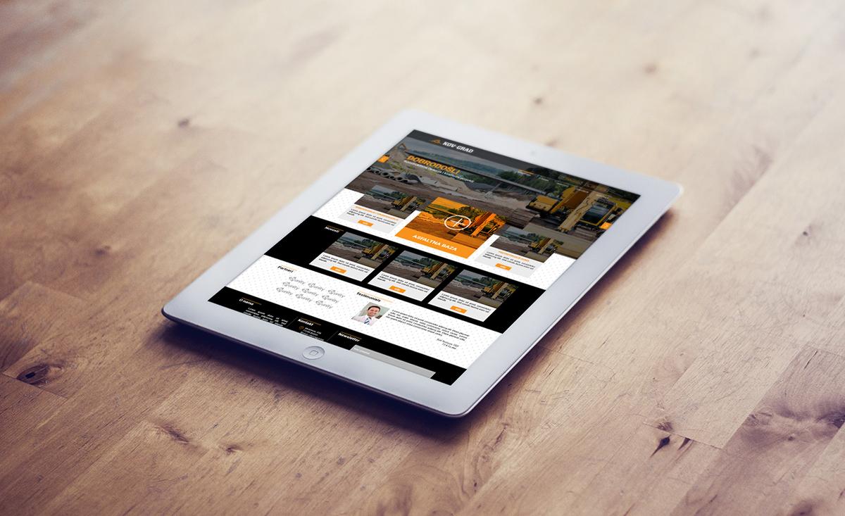 Kov-Grad - Kov-Grad - Web Design