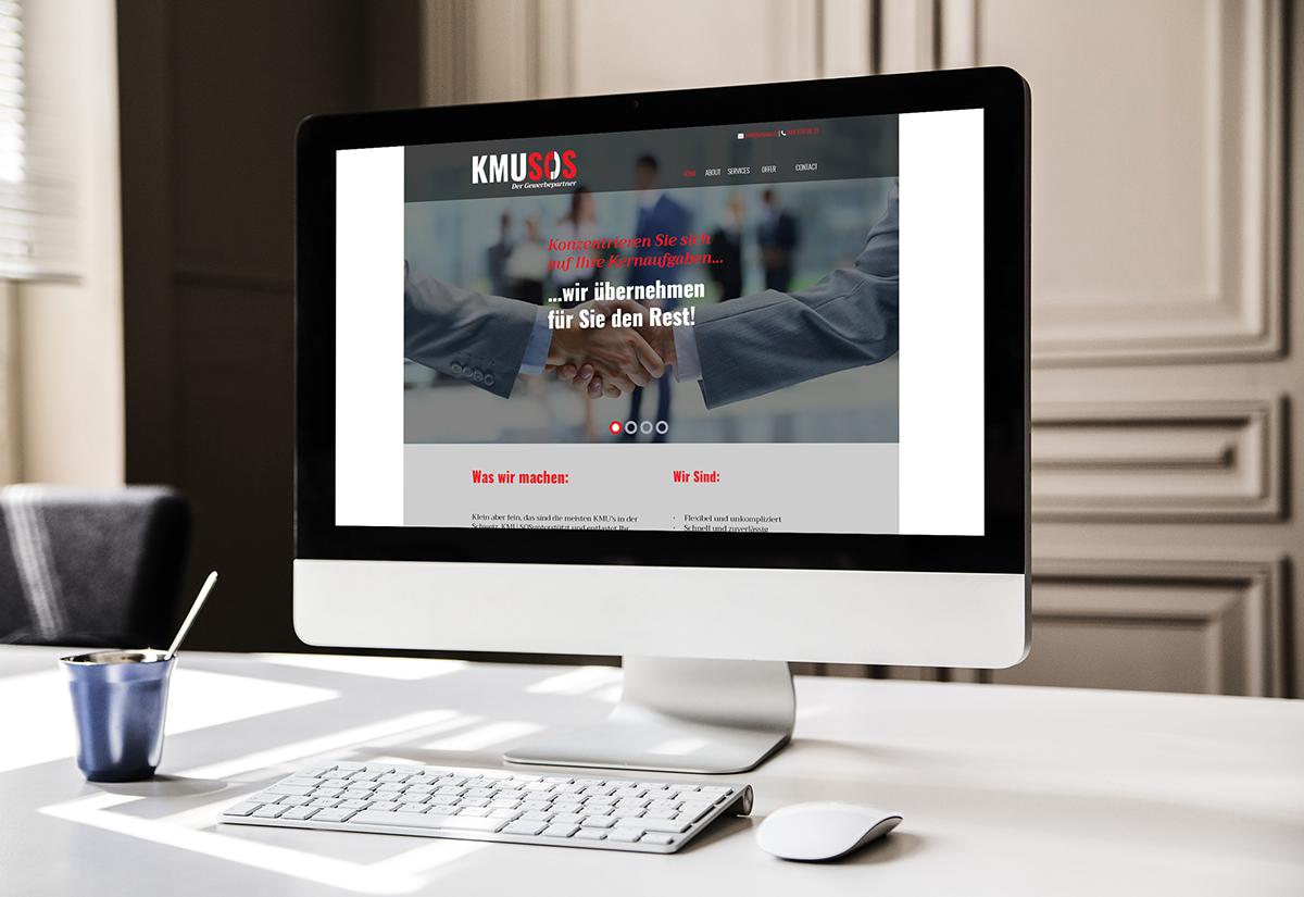 KMU SOS - KMU SOS - Web Design