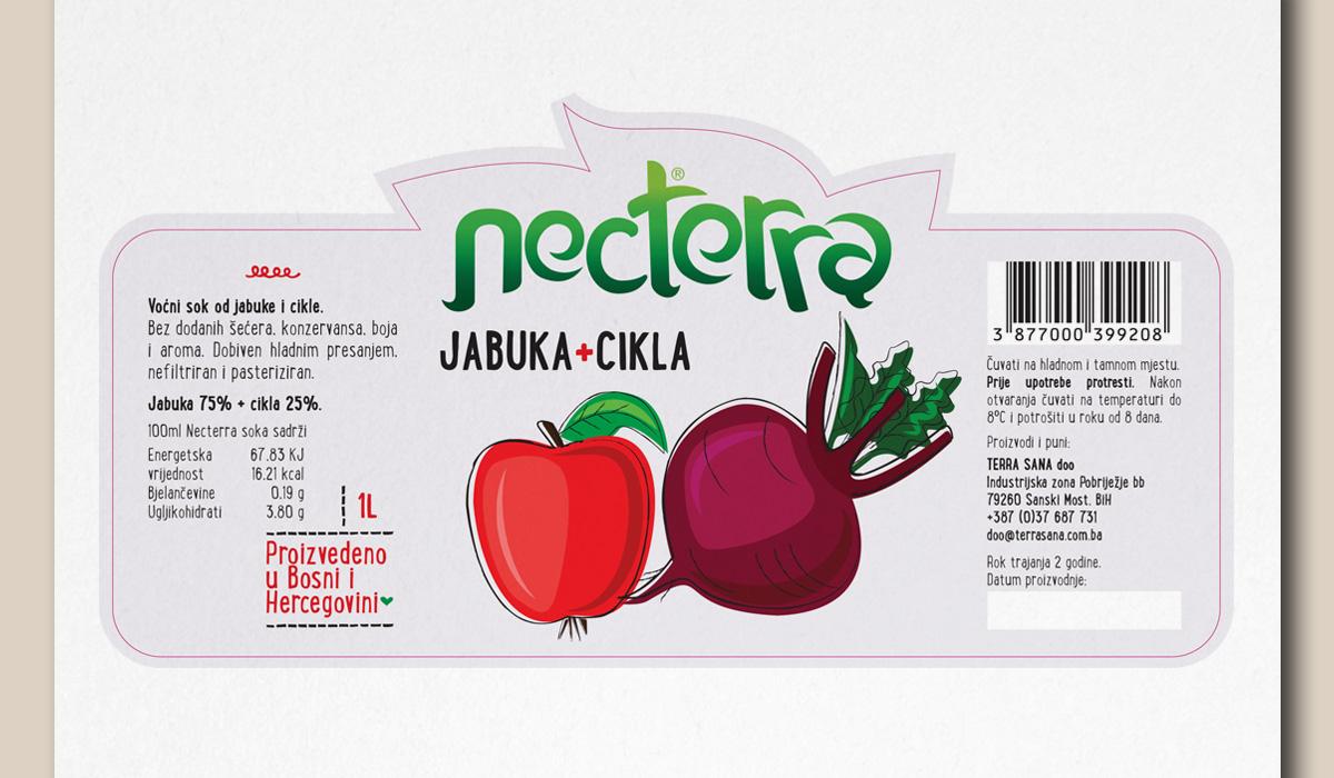 Necterra®  - Naming & Label Design